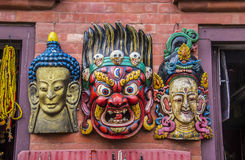 Tibetan masks Stock Photos