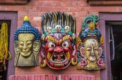 Tibetan masks Stock Photos