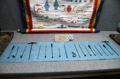 Tibetan medical instruments Royalty Free Stock Image