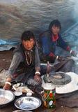 Tibetan meel Royalty Free Stock Images
