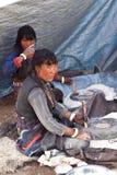 Tibetan meel Stock Photos