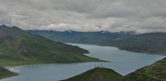Tibetan meer Stock Foto's