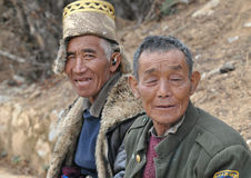 Tibetan Men Royalty Free Stock Photos