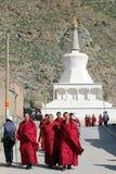 Tibetan monastary Stock Photography