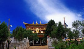 Tibetan monasteries Stock Photography