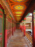 Tibetan monasteries Royalty Free Stock Image