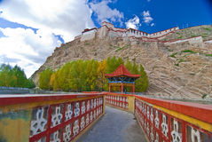 Tibetan monastery Stock Images