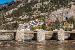 Tibetan Monastery Royalty Free Stock Images