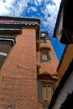 Tibetan Monastery exterior Stock Photos