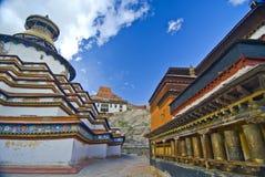 Tibetan Monastery exterior Royalty Free Stock Images