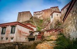 Tibetan Monastery in Gyangze Stock Image