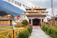 Tibetan monastery Stock Photos