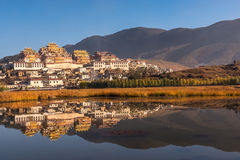 Tibetan Monastery in Shangrila Stock Images