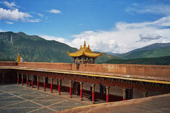 Tibetan monastery in Xiancheng, China Stock Images