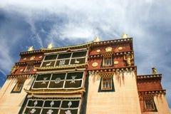 Tibetan Monastery, Zhongdian, Yunnan, China Stock Photos