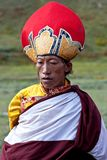 Tibetan monk Stock Photography
