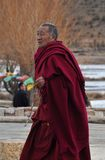 Tibetan monk Royalty Free Stock Photography