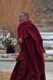 Tibetan monk Royalty Free Stock Photography