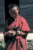 Tibetan monks Royalty Free Stock Image