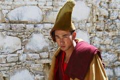 Tibetan monnik Stock Afbeeldingen
