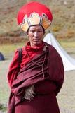 Tibetan monnik Stock Afbeelding