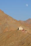 Tibetan mountain houses Royalty Free Stock Image