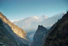 Tibetan mountain's landscape Stock Photography