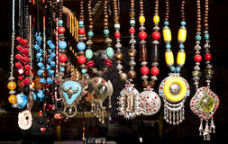 Tibetan necklaces Royalty Free Stock Image
