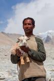 Tibetan nomad, Ladakh Stock Photography