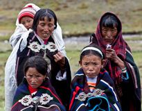 Tibetan nomads Royalty Free Stock Images