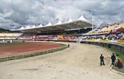Tibetan Paardenrennen Stock Afbeelding