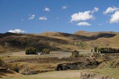 Tibetan pastoral view Stock Photo