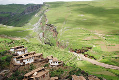 Tibetan pasture village Stock Image