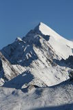Tibetan peaks. Rugged peaks in Eastern Tibet Stock Images
