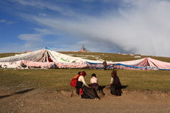 Tibetan people Stock Photo
