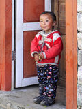 Tibetan People, Children stock photo