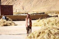Tibetan people Stock Image