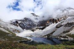 Tibetan Pilgrimage Mountain Stock Photos
