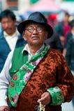 Tibetan pilgrims Royalty Free Stock Images