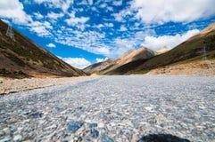 tibetan platå Arkivbilder