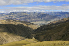 Tibetan plateau Royalty Free Stock Photos