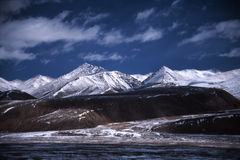 Tibetan plateau Stock Photo