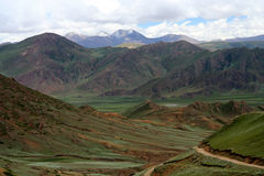 Tibetan plateau Stock Photography