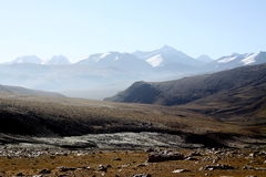 Tibetan plateau Royalty Free Stock Photography