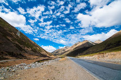 Tibetan Plateau - a great adventure Royalty Free Stock Photos