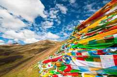 Tibetan Plateau - a great adventure Royalty Free Stock Photo