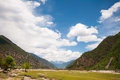 Tibetan Plateau Stock Image