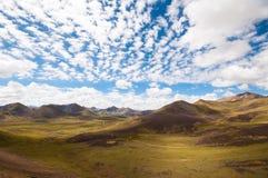 Tibetan Plateau Royalty Free Stock Photo