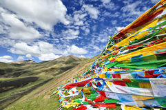 Tibetan Plateau Royalty Free Stock Photo