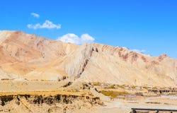 Tibetan plateau scene-Plateau topography Stock Images